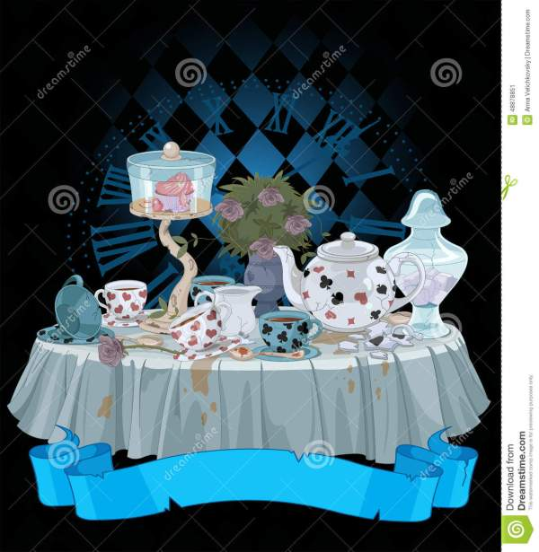 Tea Party Stock Vector. Illustration Of Graphics Fairy