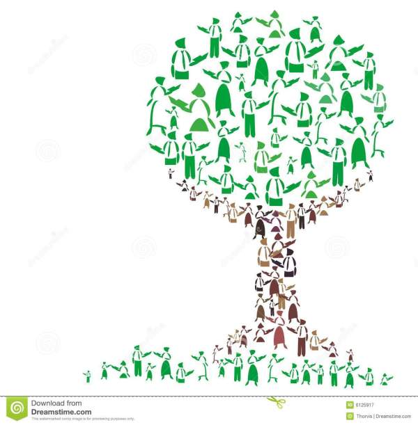 Teaching Tree Stock Illustration. Illustration Of Library