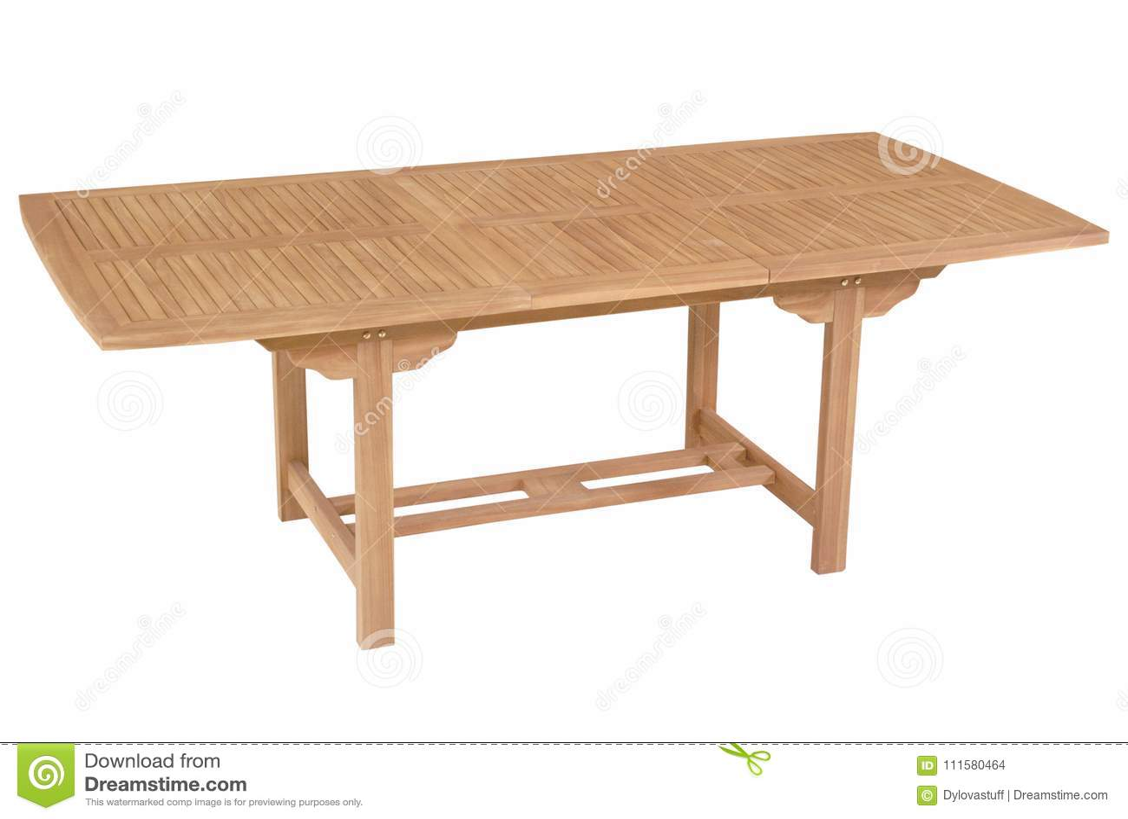 teak table and chairs garden bar style adirondack furniture set stock photo