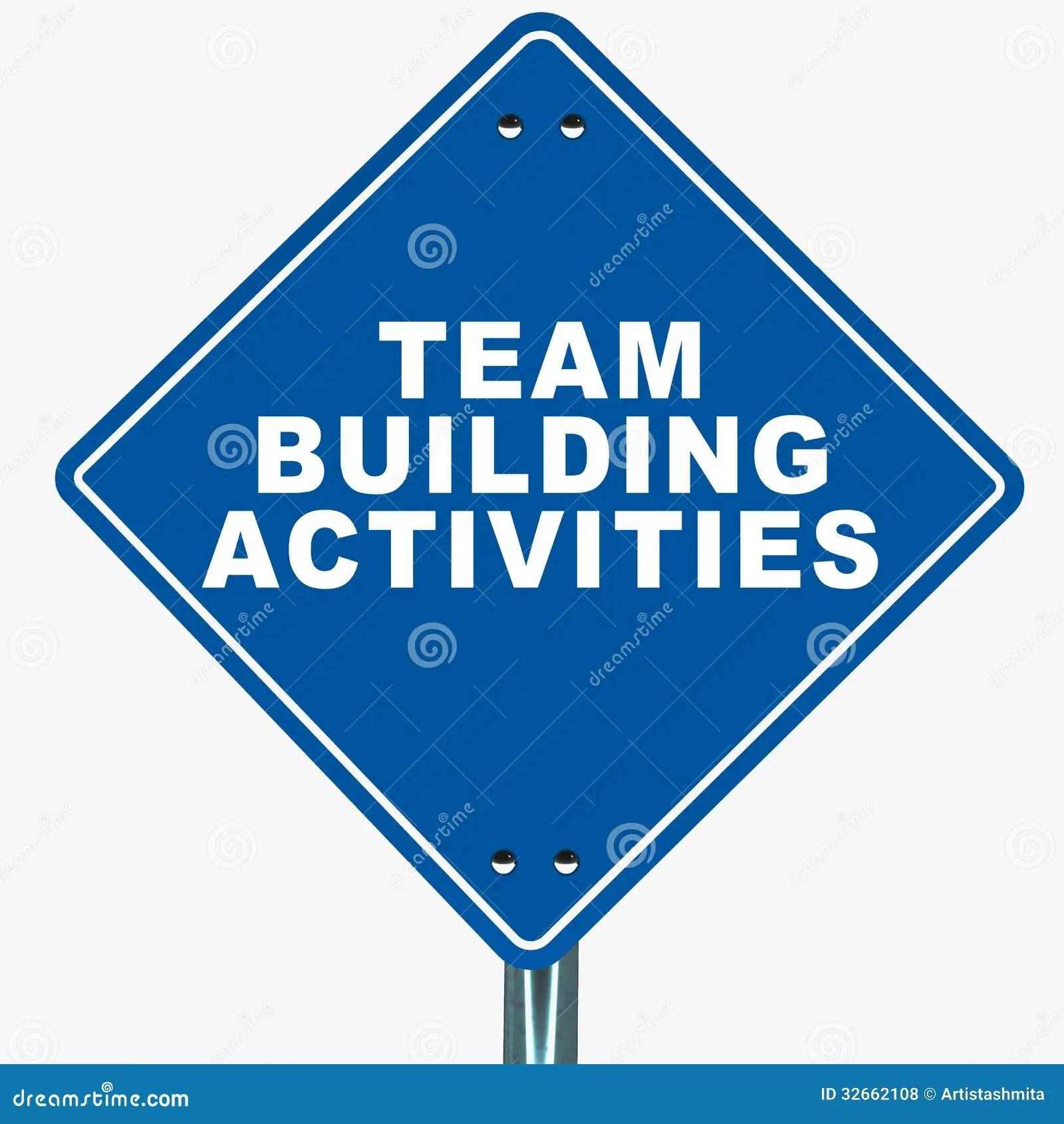 Team Building Activities Royalty Free Stock Photos