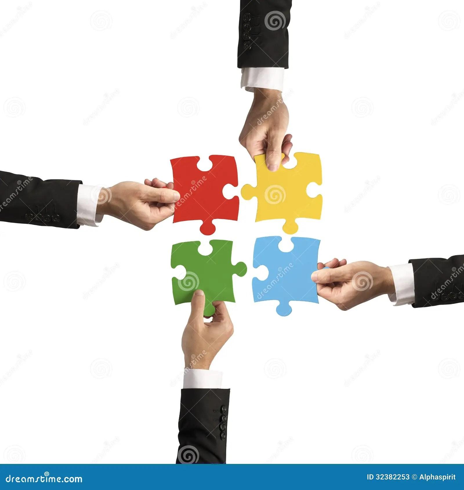 Teamwork And Partnership Concept Stock Photos  Image 32382253