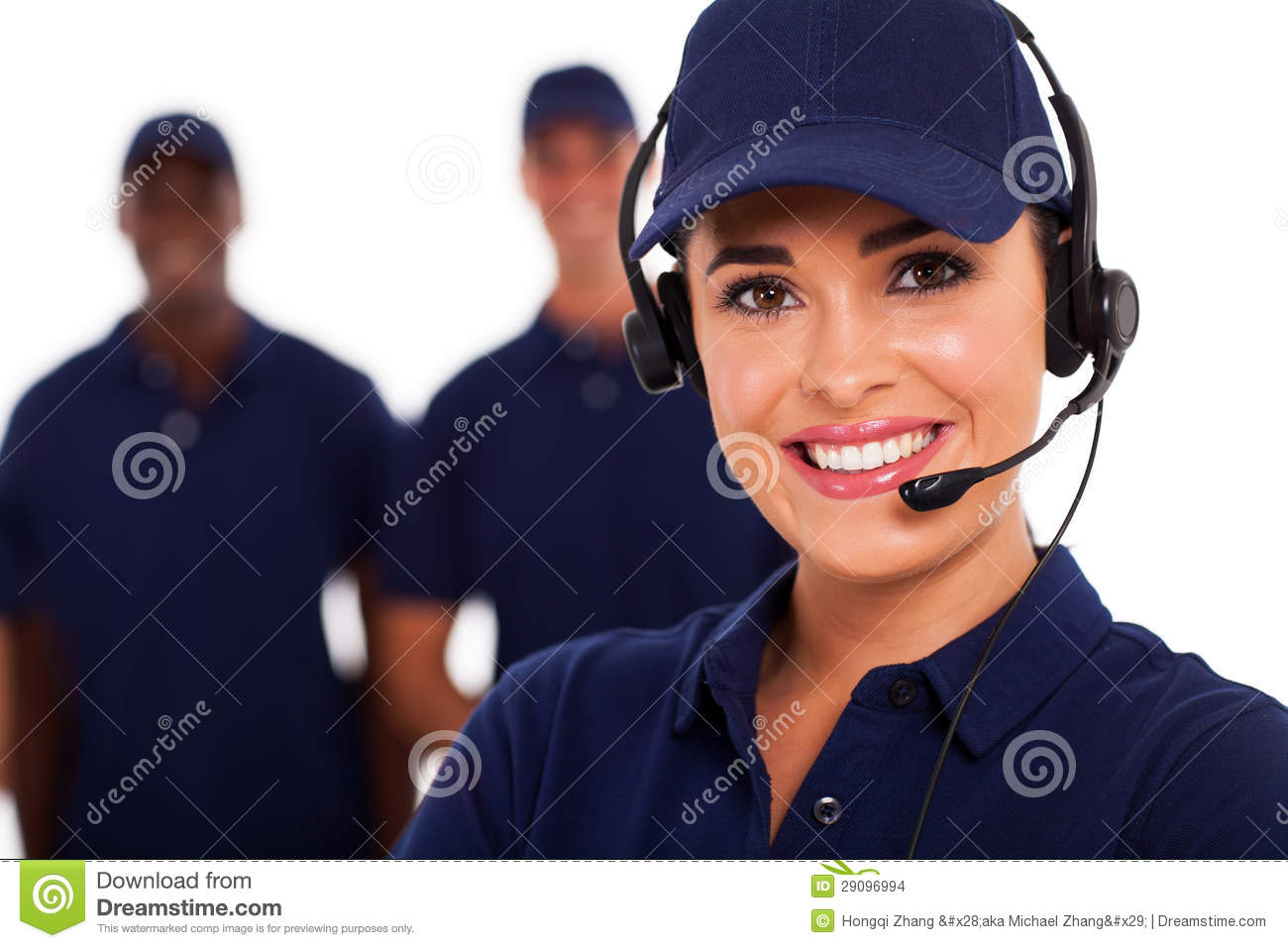 Technical call center stock photo Image of friendly  29096994