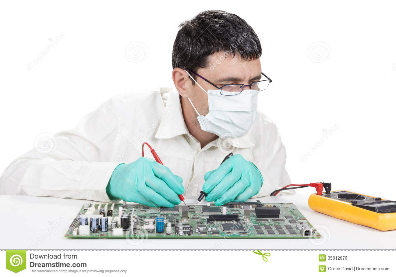 Technician Royalty Free Stock Image