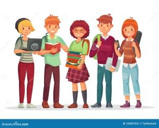 High School Student Adolescence Clipart