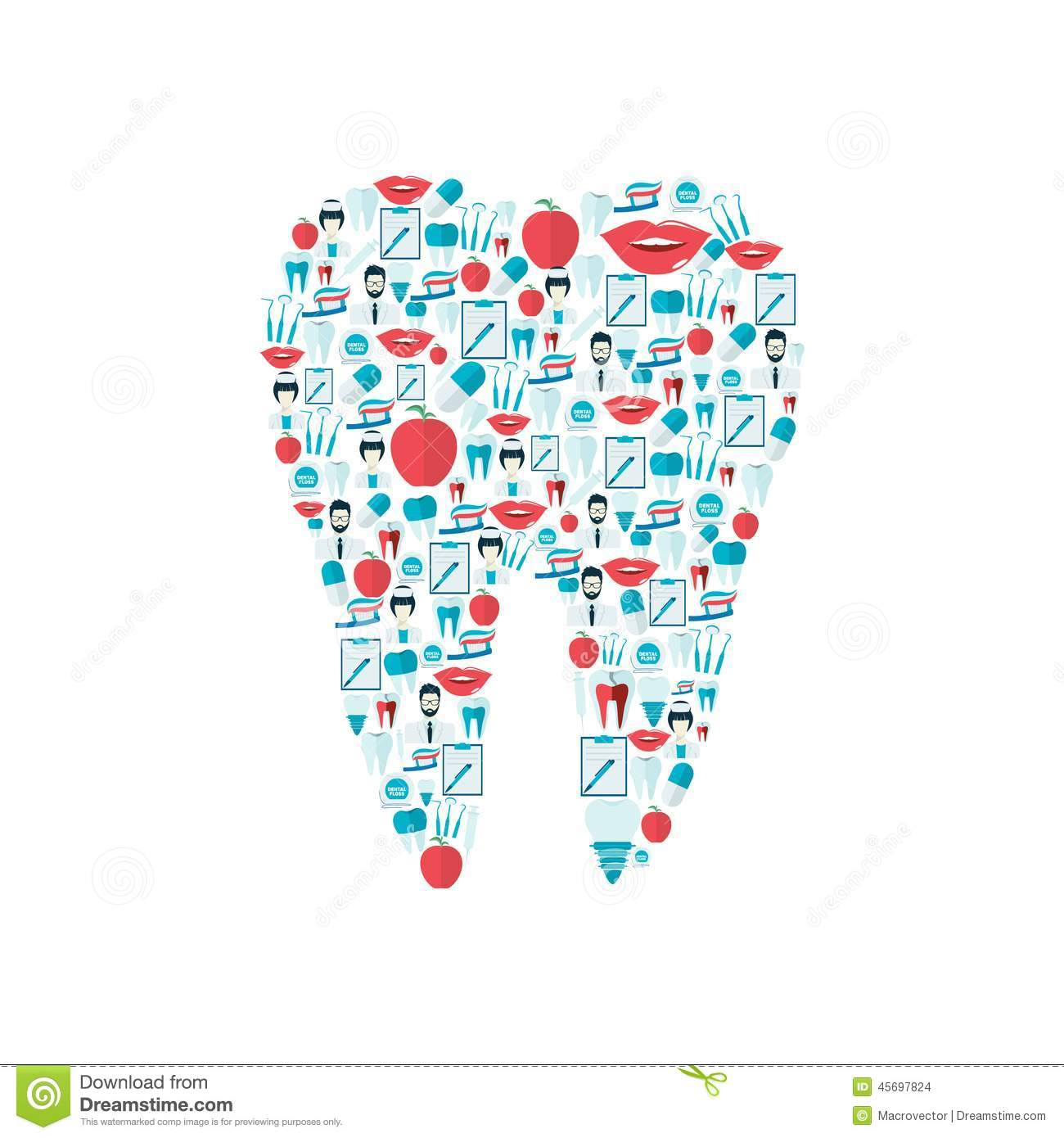 Hygiene Art Dental Clip