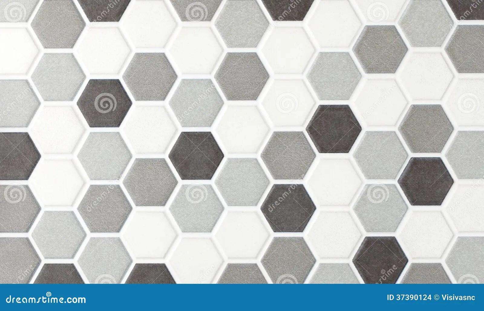 Tejas Hexagonales De Mrmol Del Mosaico Foto de archivo  Imagen de contexto elegante 37390124