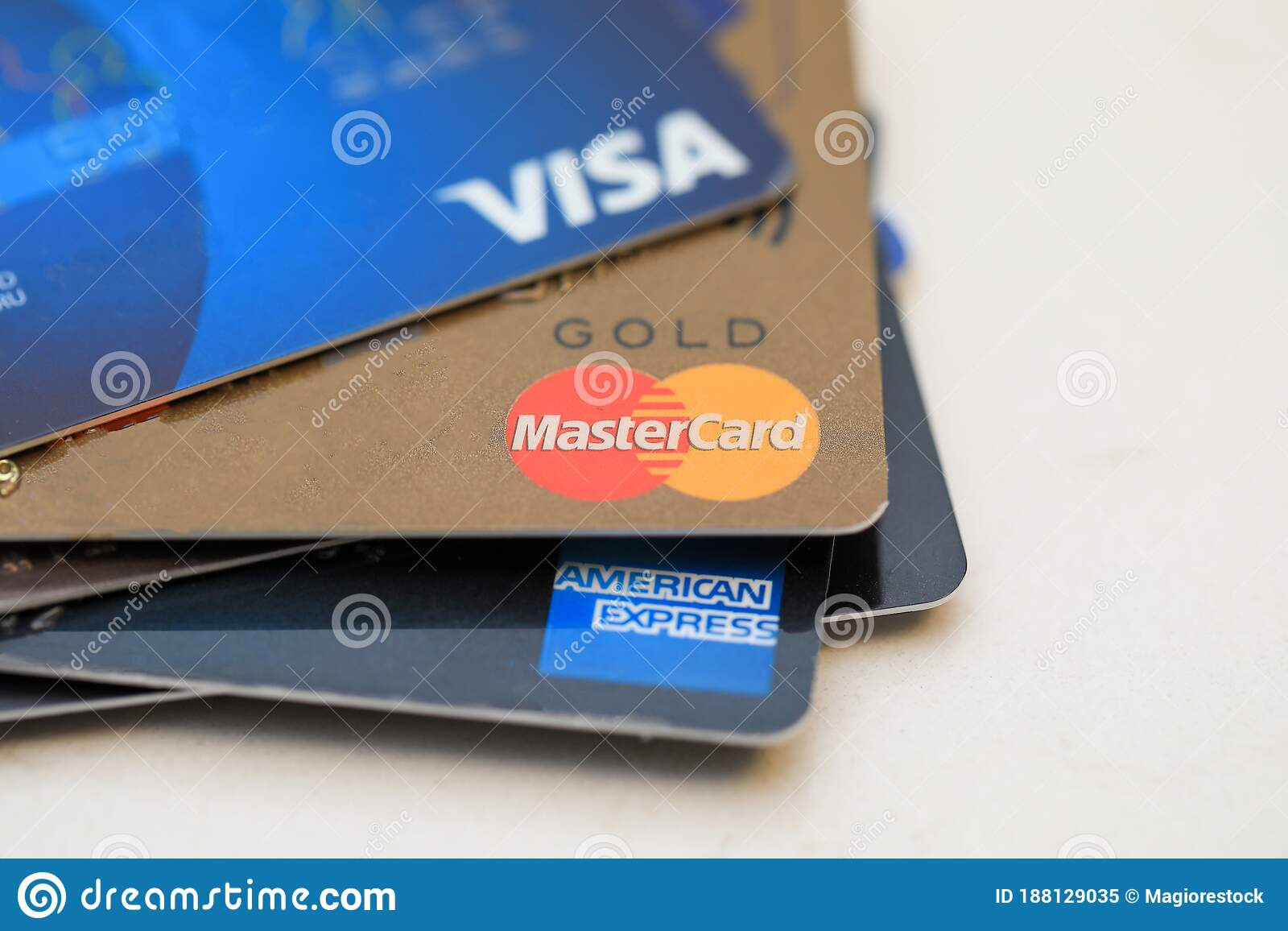 Combined, these three companies account for close to 40% of the nation's outstanding credit card debt. Tel Aviv Israel January 26 2020 Credit Cards Major Brands Visa Mastercard And American Express Editorial Image Image Of Card Editorial 188129035
