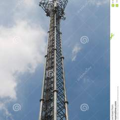 Cellular Phone Tower Signal Diagram 4 Flat House Plan In Nigeria Telecommunication Stock Photo Image Of Mobile