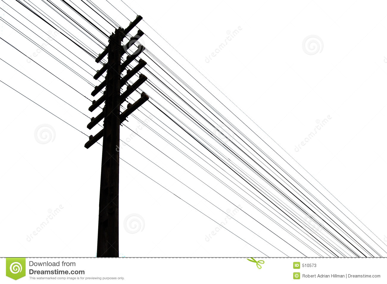 Telegraph wires stock illustration. Image of call, energy