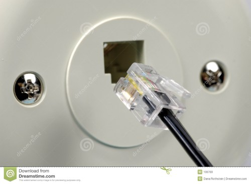 small resolution of telephone jack stock photos image 135703 4 wire telephone jack wiring diagram