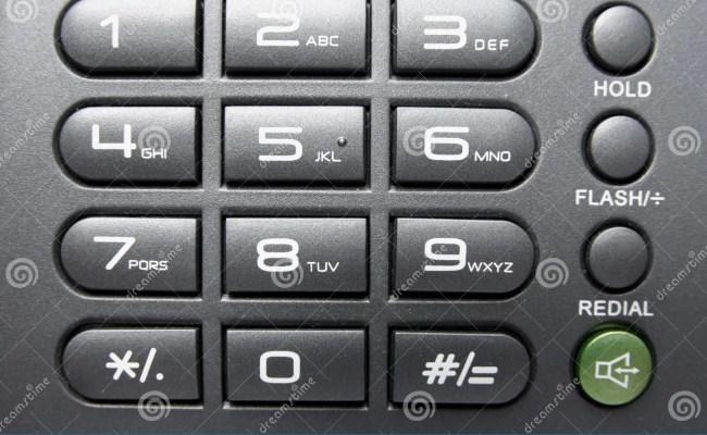 Telephone Keypad Stock Photo Image Of Office Background