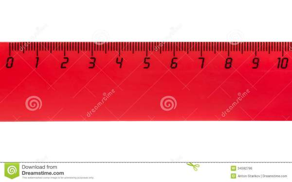 Ten Centimeters Royalty Free Stock - 34592796