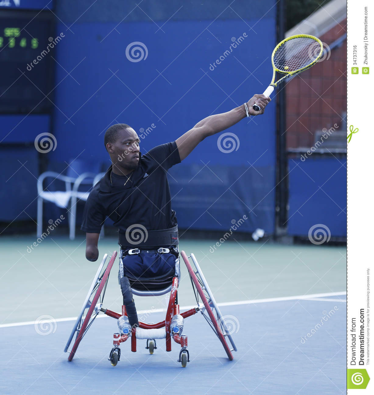 wheelchair quad couch and chairs tennis player lucas sithole from south africa during us open 2013 flushing ny september 8 singles match at billie jean king national