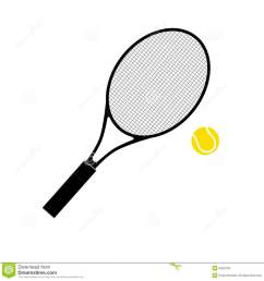 tennis racket and ball stock photo image 9432750 tennis racquet clip art no background  [ 1300 x 1364 Pixel ]