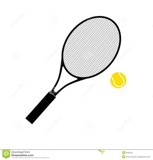 small resolution of  tennis racket and ball stock photo image 9432750 tennis racquet clip art no background