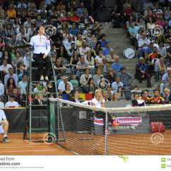 Tennis Umpire Chair Hire Baby Adirondack Referee Editorial Photography Image