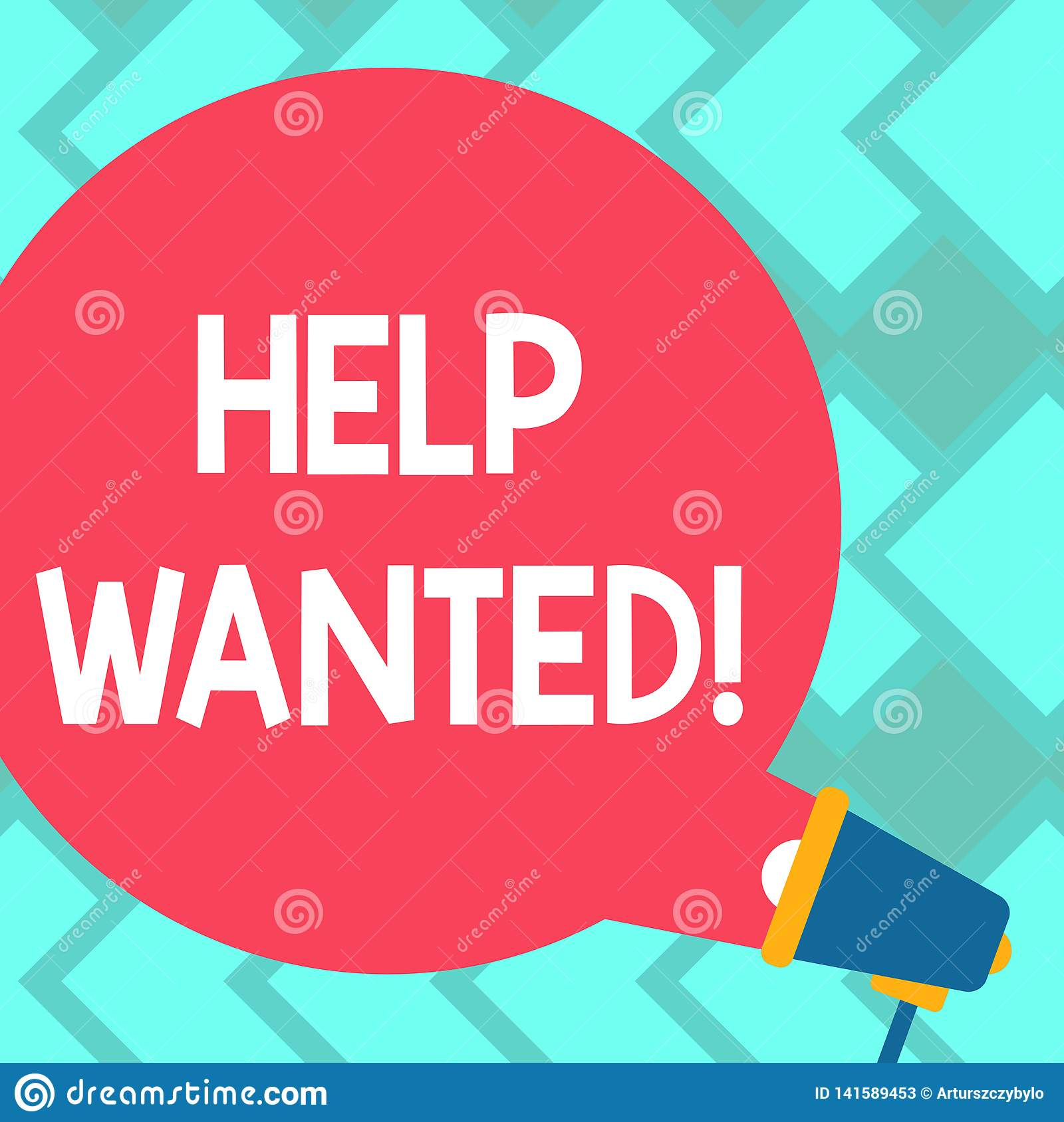 Text Sign Showing Help Wanted Conceptual Photo Employee