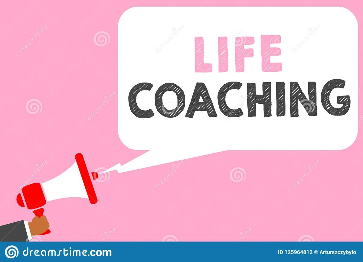 Text Sign Showing Life Coaching. Conceptual Photo Improve ...