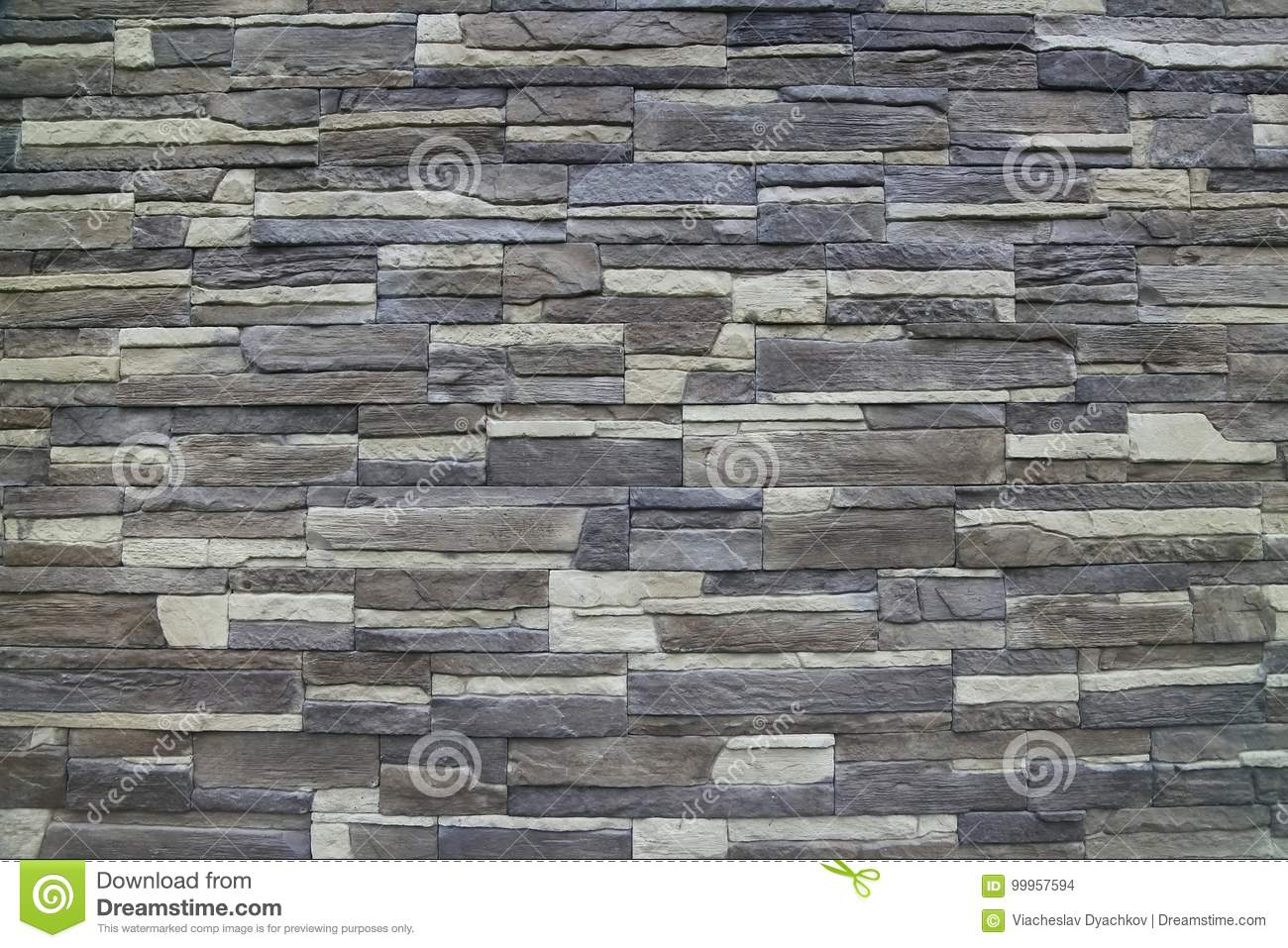 Texture Artificial Decorative Stone Facade Decorative