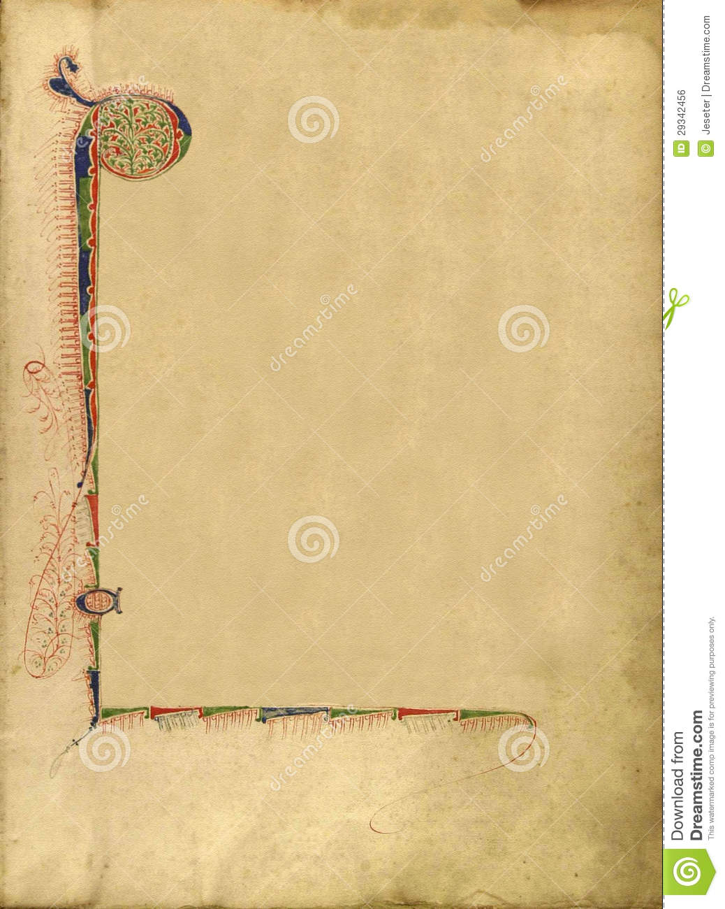 Texture Of Old Book Page Royalty Free Stock Image  Image 29342456