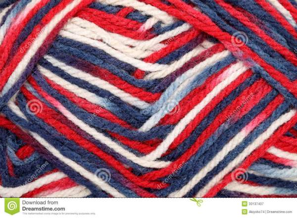 Texture Of Yarn Ball Royalty Free Stock Photography