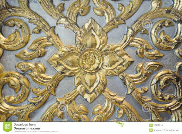 Thai Gold Leaf Art