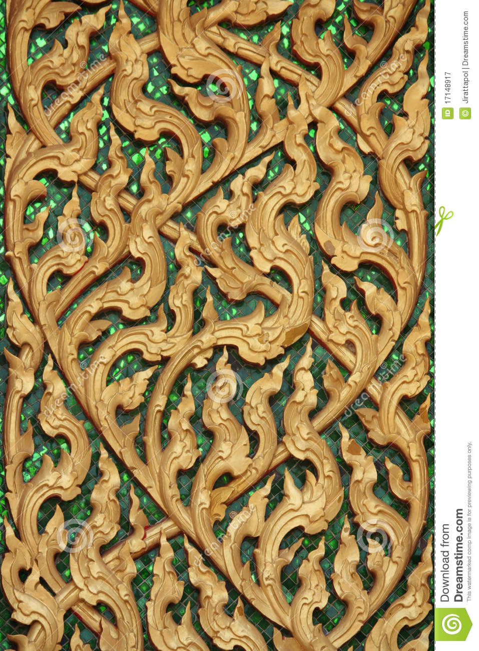 Thai patterns stock image Image of church culture patterns  17148917