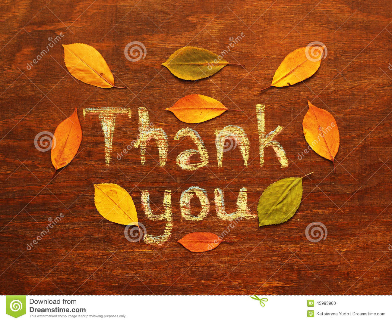 Fall Thanksgiving Wallpaper Free Thank You Inscription Stock Photo Image Of Colorful