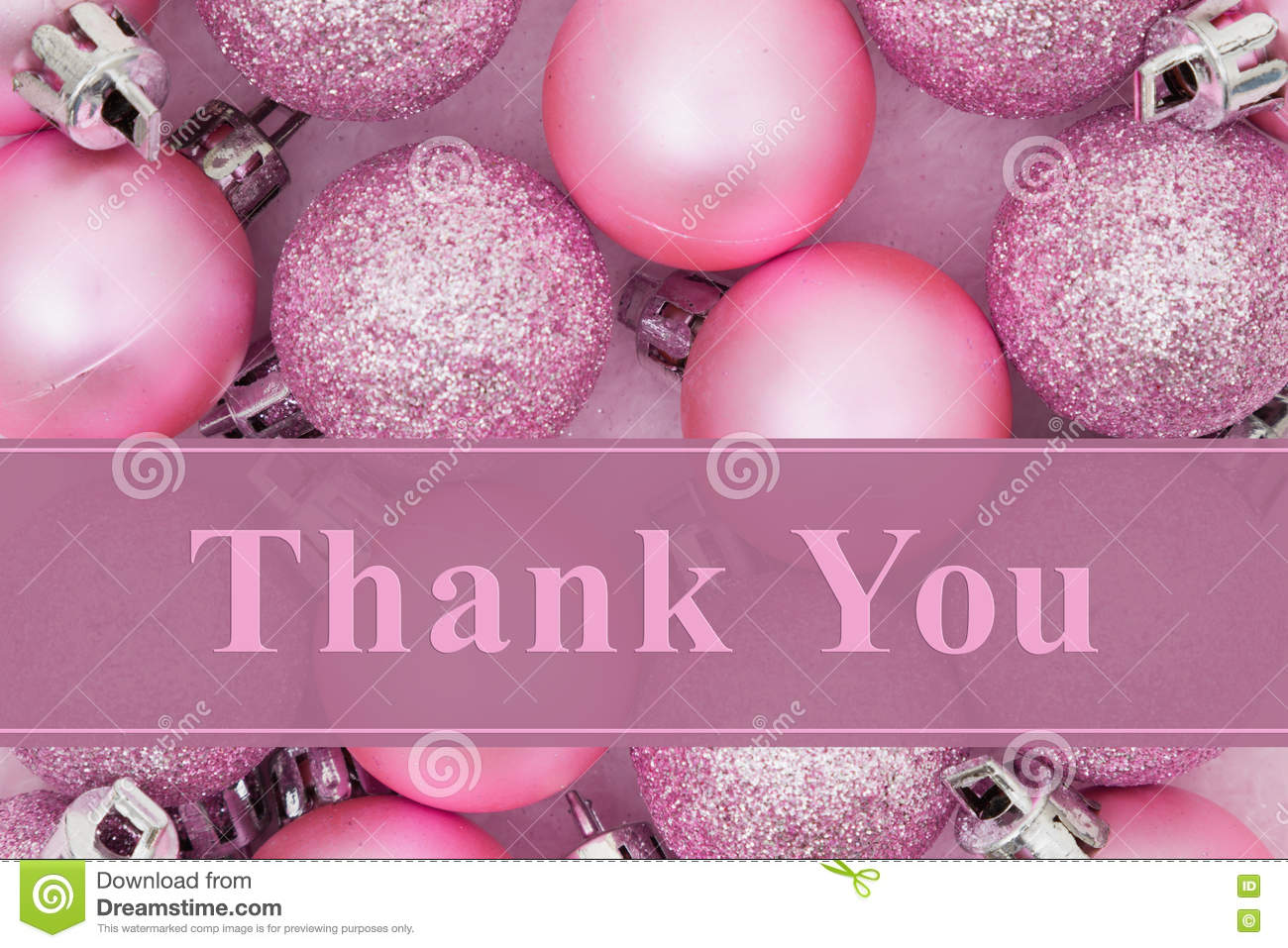 Thank You Message Stock Photo Image 79552168