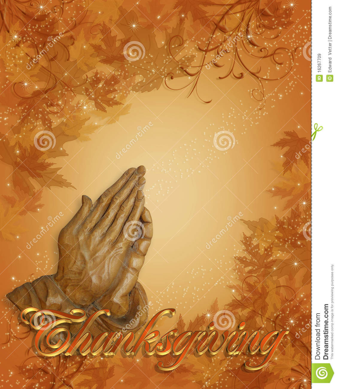 Christian Wallpaper Fall Offering Thanksgiving Praying Hands Royalty Free Stock Images