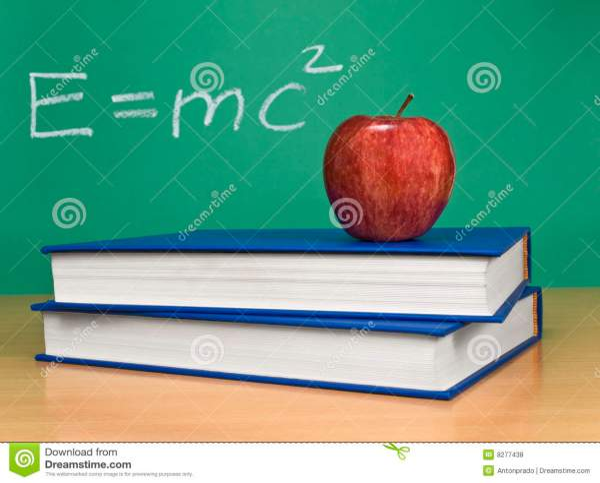 Theory Of Relativity Royalty Free Stock