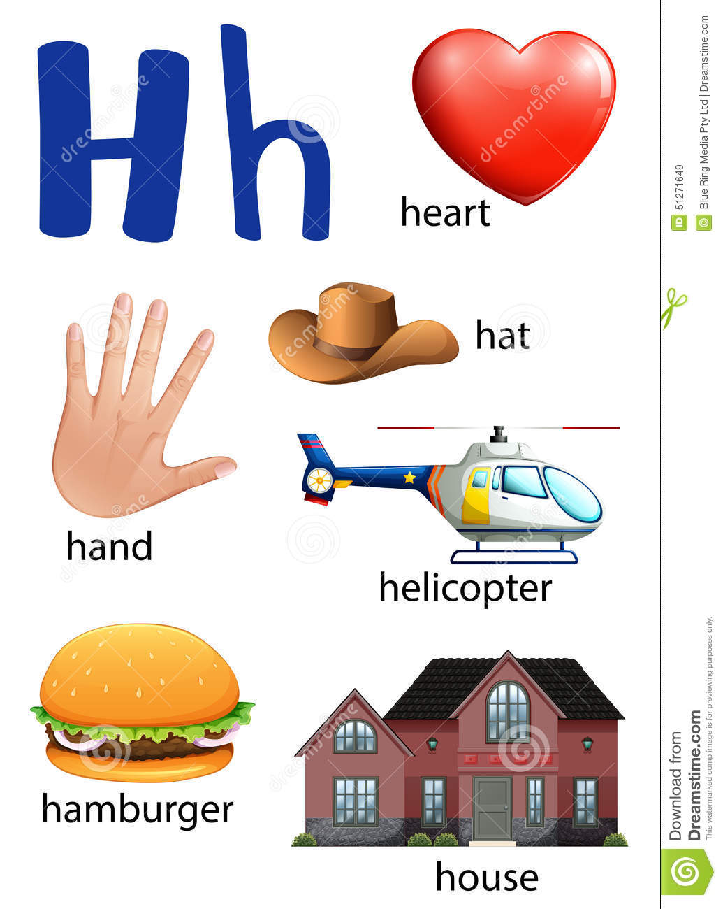 Things That Start With The Letter H