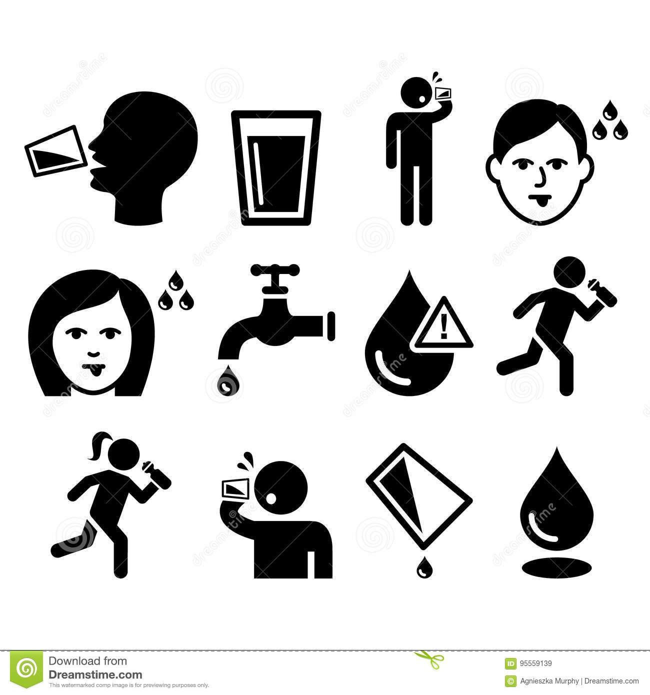 Dehydration Cartoons Illustrations Amp Vector Stock Images
