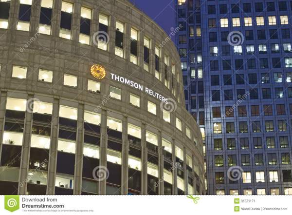 Thomson Reuters Editorial - 36321171