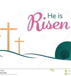 easter background he is risen [ 1300 x 957 Pixel ]