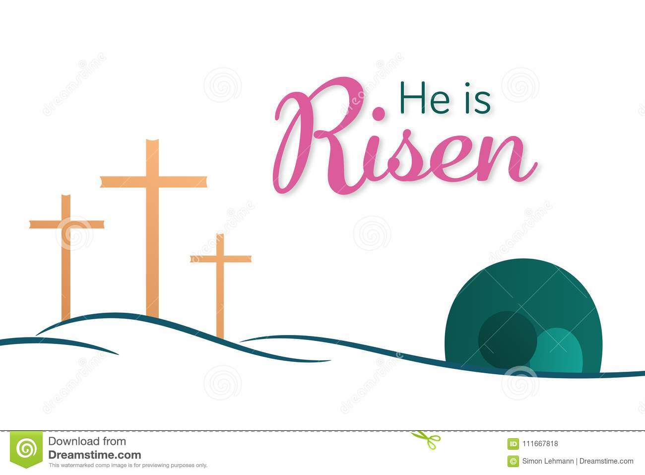 hight resolution of easter background he is risen