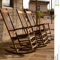 Chair Latest Design Revolving Other Name Three Old West Town Empty Rocking Chairs Royalty Free Stock Image - Image: 10689426