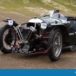 Three Wheel Morgan Super Sports Car On Brooklands Racetrack Surrey England Editorial Photography Image Of Surrey England 108696777
