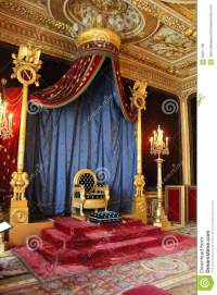 Throne Of Napoleon, Fontainebleau, France Editorial Image ...