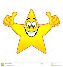 Star Thumbs Up Clip Art