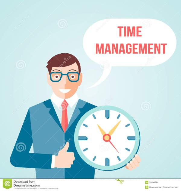 Time Management Illustrations