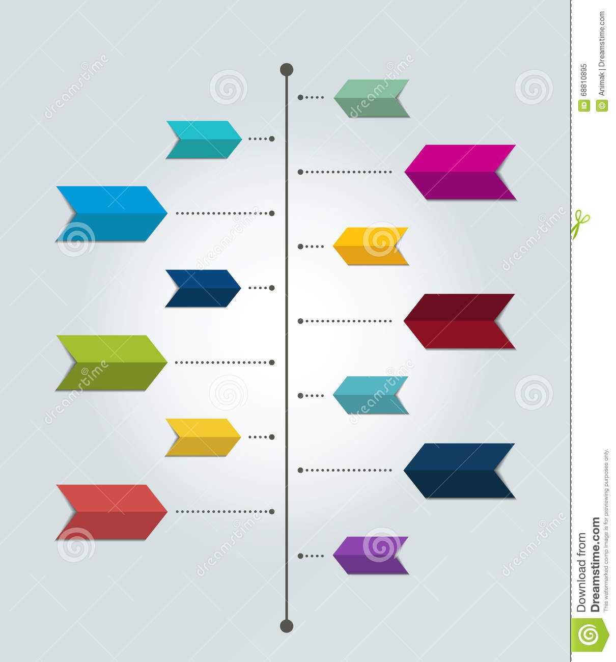 hight resolution of color shadow scheme diagram