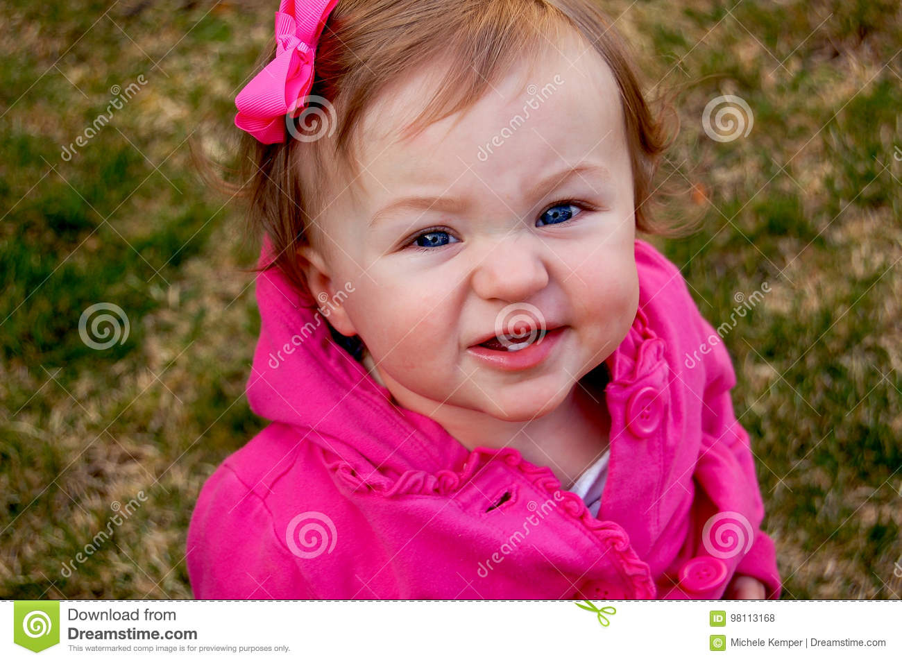 toddler funny face stock