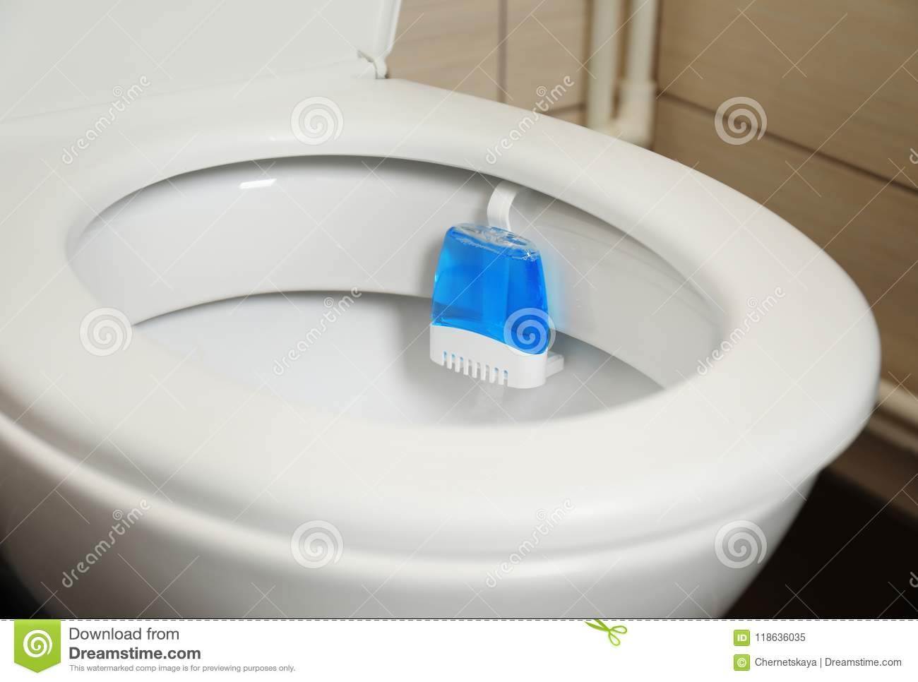 Bathroom Air Freshener Toilet With Rim Block In Bathroom Stock Image Image Of Domestic