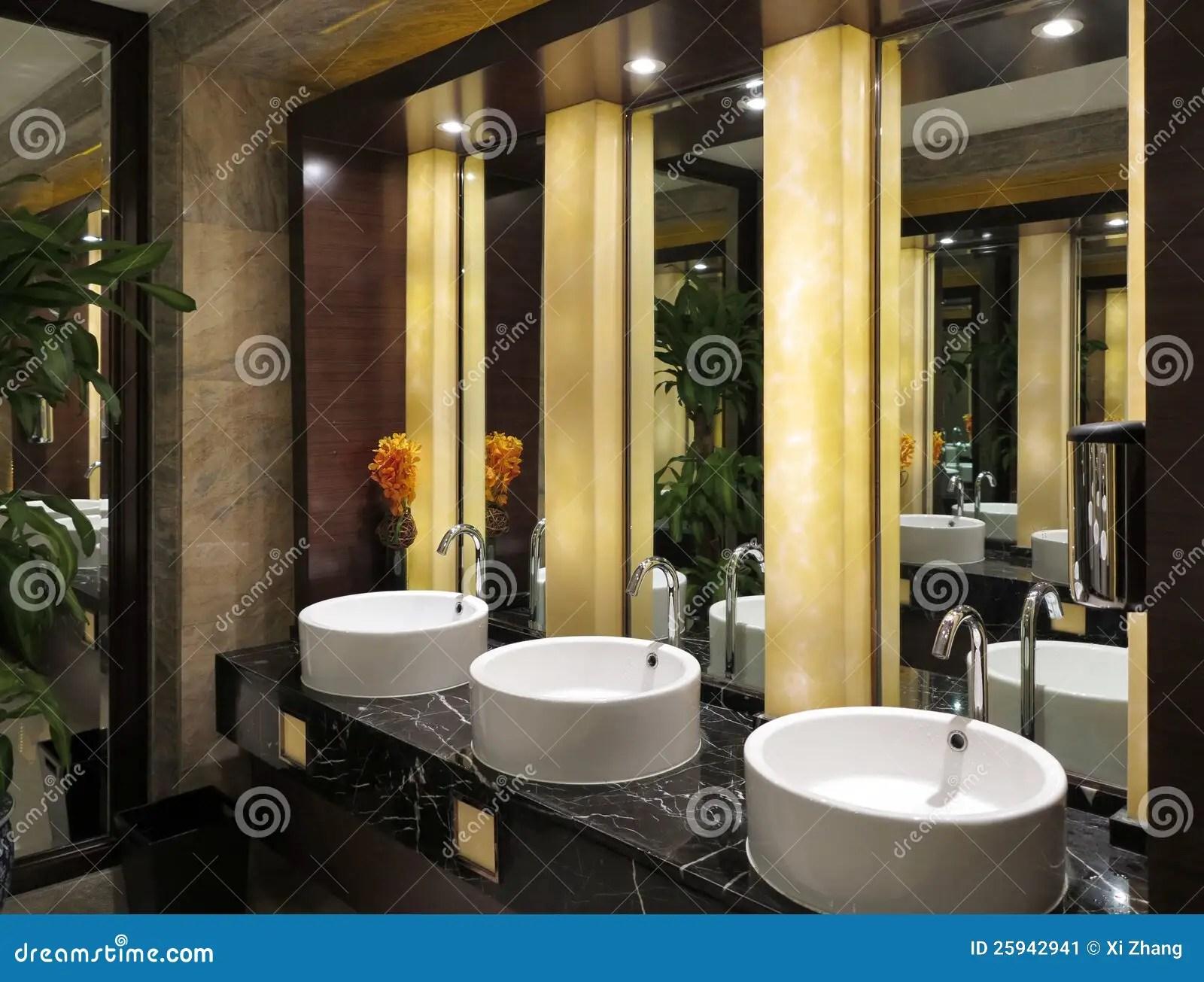 Toilet Sinks Mirror Stock Image Image 25942941