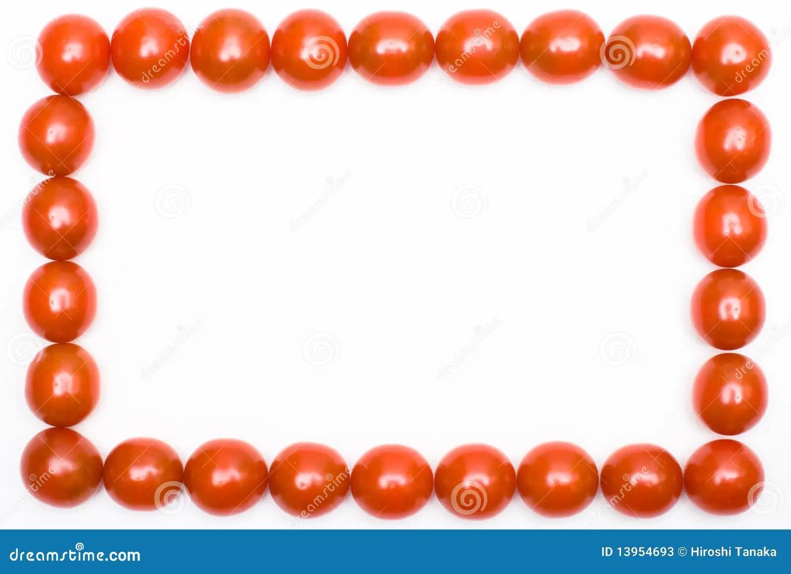 Tomato Frame Stock Photos Image 13954693