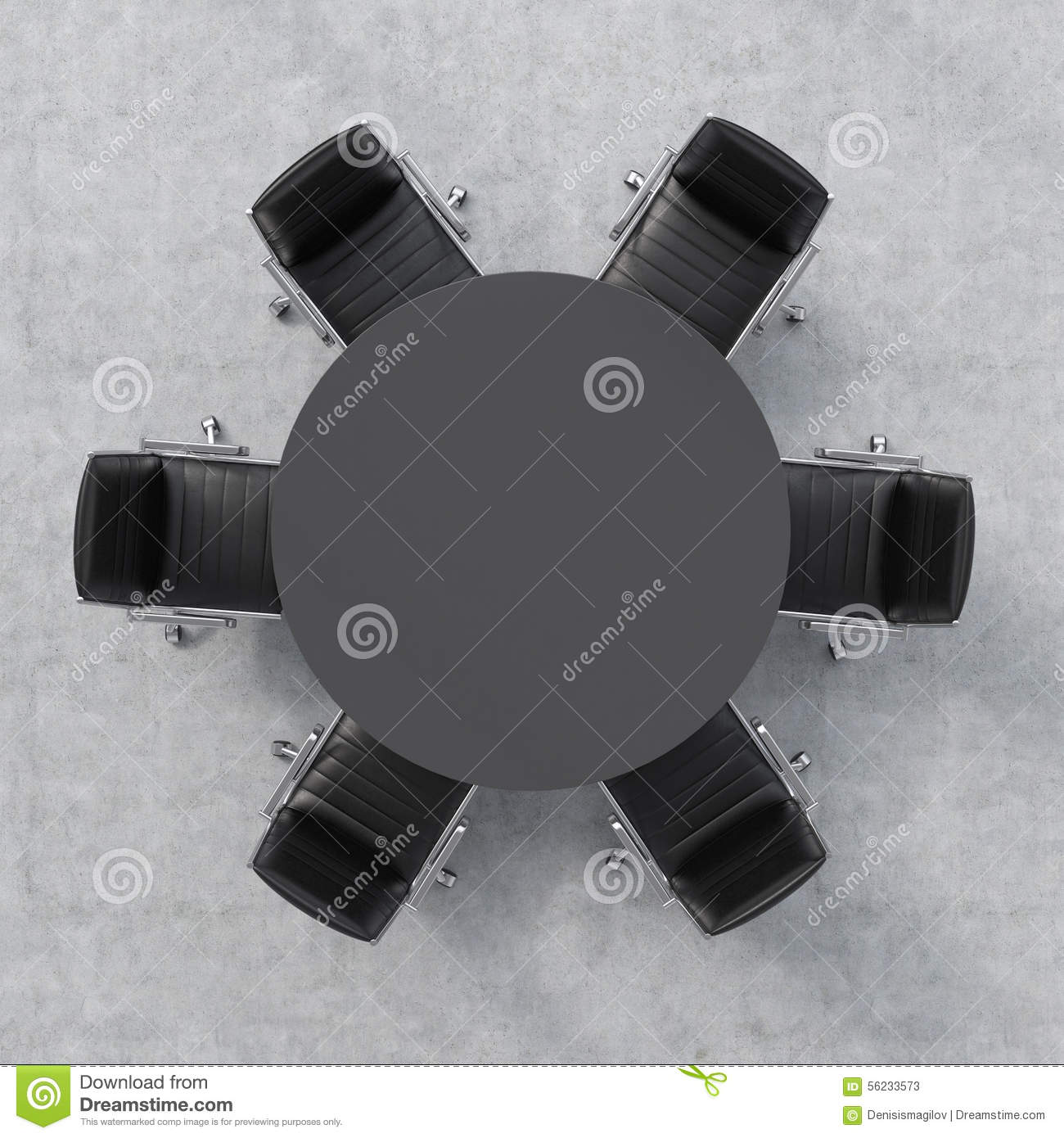round table 6 chairs dimensions chair gym exercise manual top view of a conference room black and six