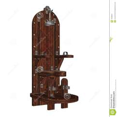 Chair Design Iron Glider Rocking Slipcovers Torture Stock Images - Image: 14538904