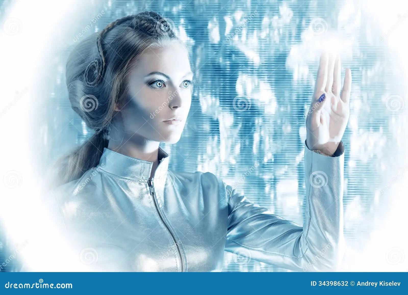 Touchscreen Stock Photo Image Of Electronic Fashion