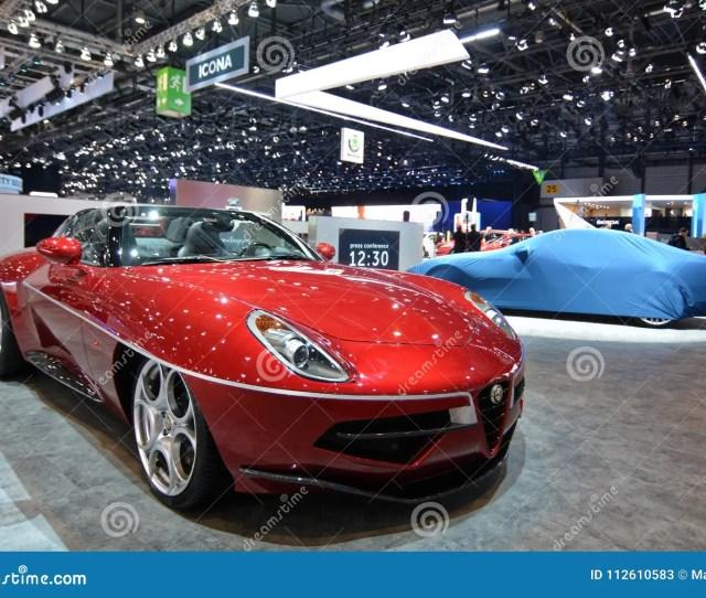 Th Geneva International Motor Show  Touring Superleggera